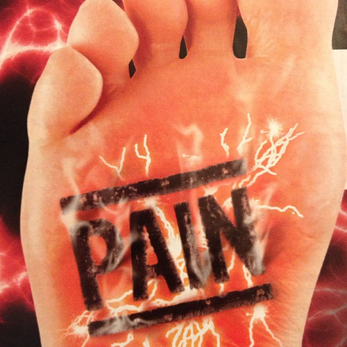 Foot Pain [Courtesy: www.flickr.com] over 50 health over 50