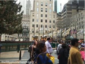 Christmas at Rockefeller Center! over50 travelover50