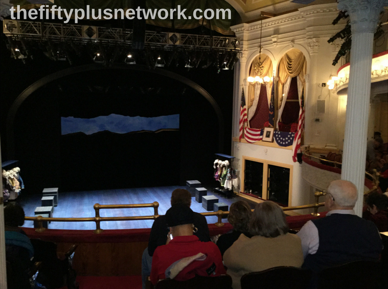 Historic Ford's Theater in Washington DC thefiftyplusnetwork activeretirement bucketlist retirement retireinspired retireyourway retiree retire earlyretirement